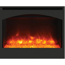 Electric fireplace Amantii ZECL-31-3228-STL-SQR