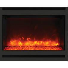 Electric fireplace Amantii ZECL-31-3228-STL-SQR
