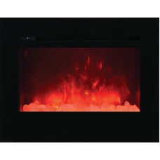 Electric fireplace Amantii ZECL-30-3226-FLUSHMT-BG