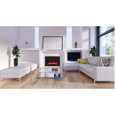 Electric fireplace Amantii INSERT-26-3825-BG