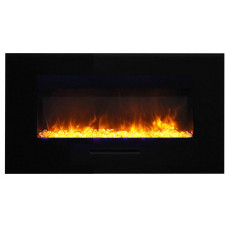 Electric fireplace Amantii WM-FM-34-4423-BG
