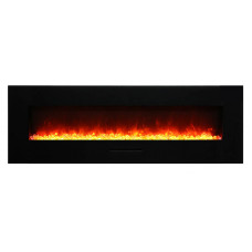 Electric fireplace Amantii WM-FM-60-7023-BG