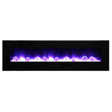 Electric fireplace Amantii WM-FM-72-8123-BG
