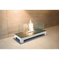 Ethanol fireplace Radius Design Floor Flame