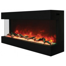 Electric fireplace Amantii 50-TRU-VIEW-XL 3 sided glass