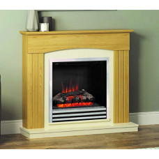 Electric fireplace Bemodern Linmere Oak