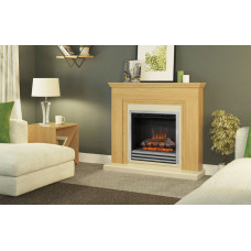 Electric fireplace Bemodern Stanton Oak