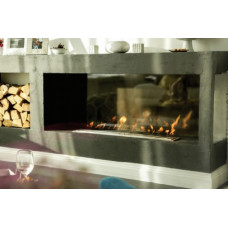 Ethanol fireplace Decoflame Built-in burner