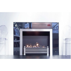 Ethanol fireplace Decoflame Milano e-Ribbon fire