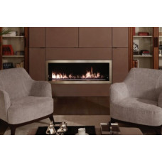 Ethanol fireplace Decoflame Orlando e-Ribbon fire 2