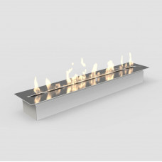 Ethanol fireplace Decoflame Outdoor built-in burner with lip