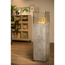 Electric fireplace Dimplex Isola Stone grey