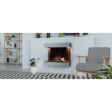 Electric fireplace Evonic Fires Aaren