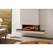 Electric fireplace Flamerite Fires Exo 900L CB