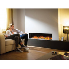 Electric fireplace Flamerite Fires Gotham 1300
