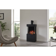 Electric fireplace Flamerite Fires Luca 450 with Log Box