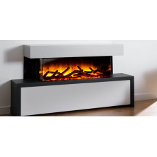 Electric fireplace Flamerite Fires Strato 900L
