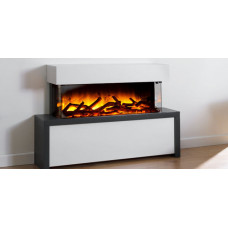 Electric fireplace Flamerite Fires Strato 900S