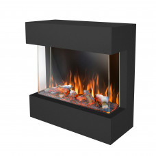 Electric fireplace Ruby Fires Castello 70 3D LED