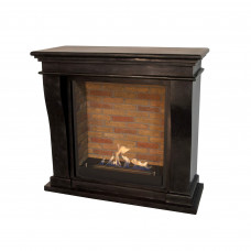 Ethanol fireplace Ruby Fires Kreta Mini (natural stone)