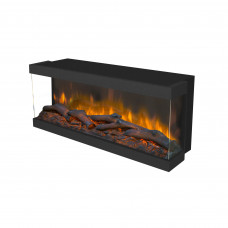 Electric fireplace Ruby Fires Levico 90 3D LED