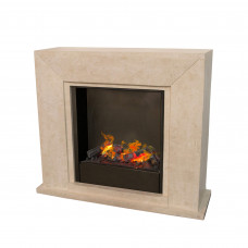 Electric fireplace Ruby Fires Nero