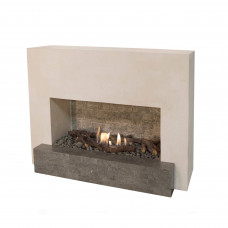 Ethanol fireplace Ruby Fires Santos