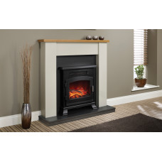 Electric fireplace Bemodern Ravensdale