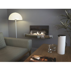 Ethanol fireplace Spartherm Elipse Wall