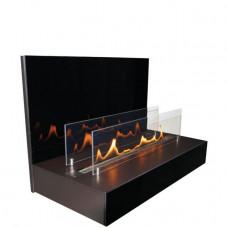 Ethanol fireplace Spartherm Quadra Wall