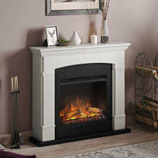 Electric fireplace Tagu Helmi Soft Cream