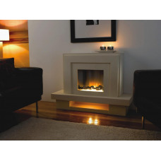 Electric fireplace Flamerite Fires Lazio