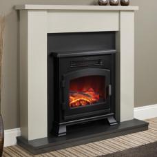 Electric fireplace Bemodern Ravensdale