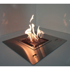 Ethanol fireplace Art Fires Automatic Square Burner 50