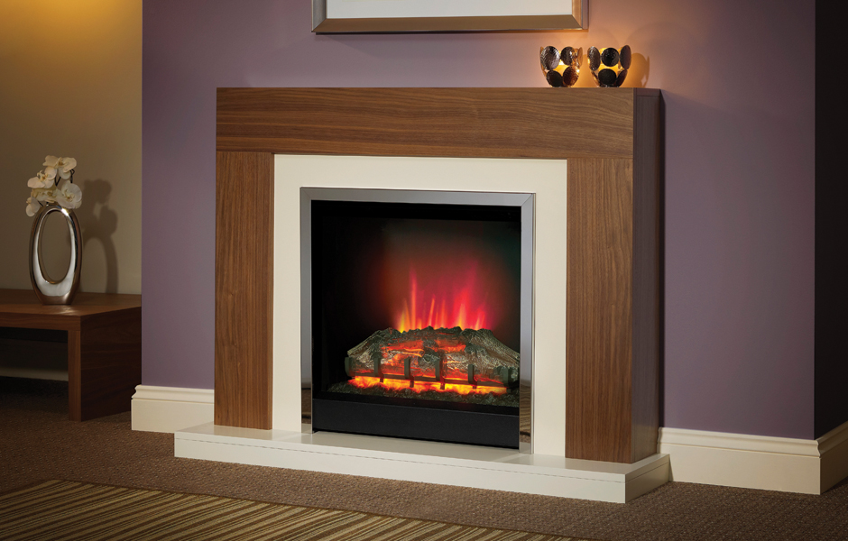 Electric Fireplace Bemodern Brenton