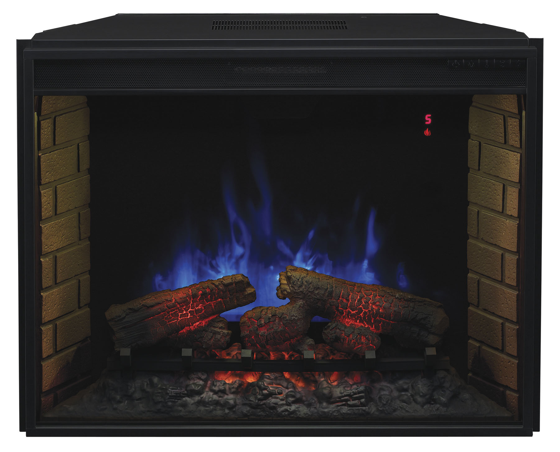 Chimenea electrica classic flame insert spectrafire 3d 33 - Chimeneas electricas insertables ...