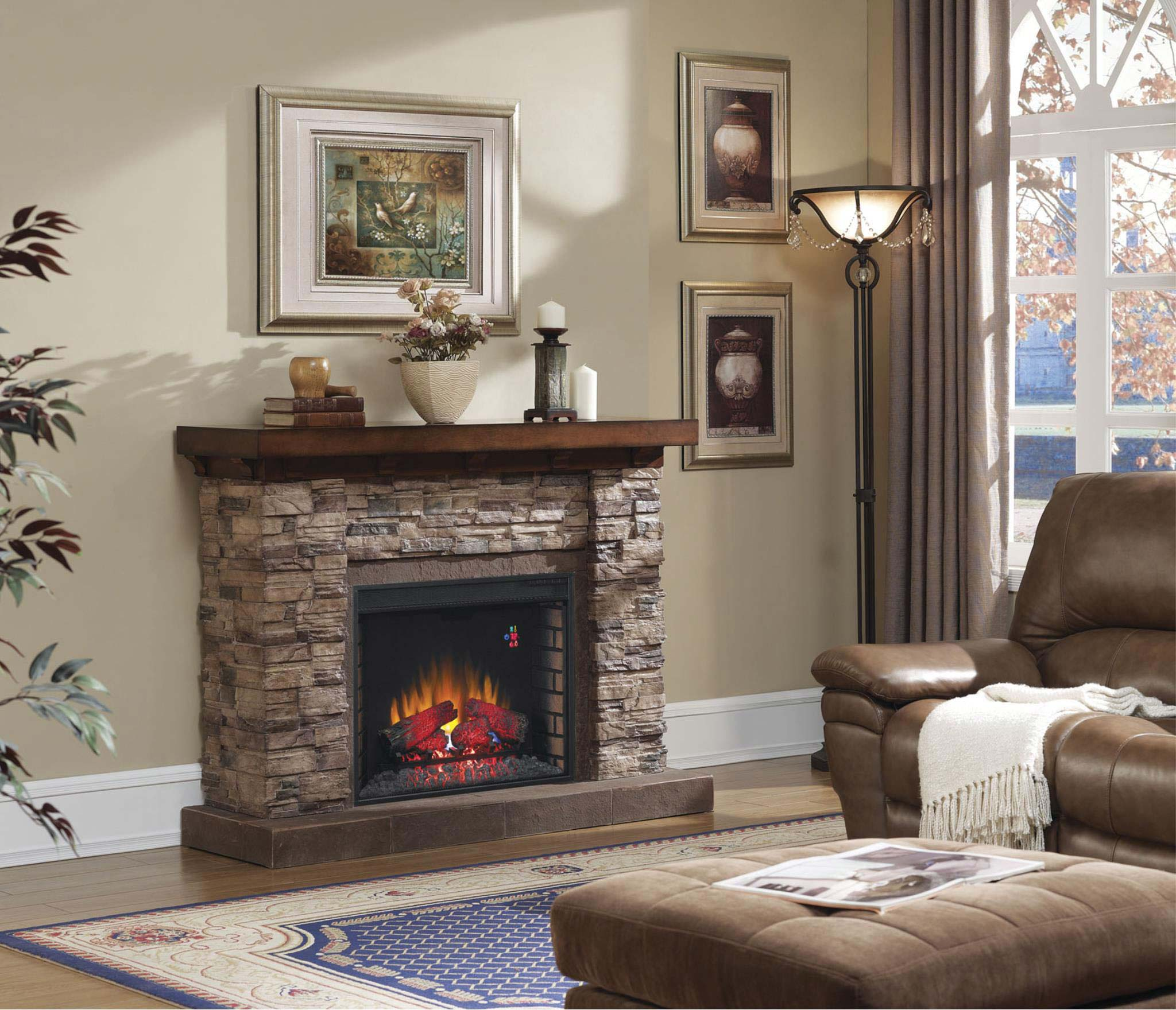 Spectrafire Electric Fireplace Video Fireplaces