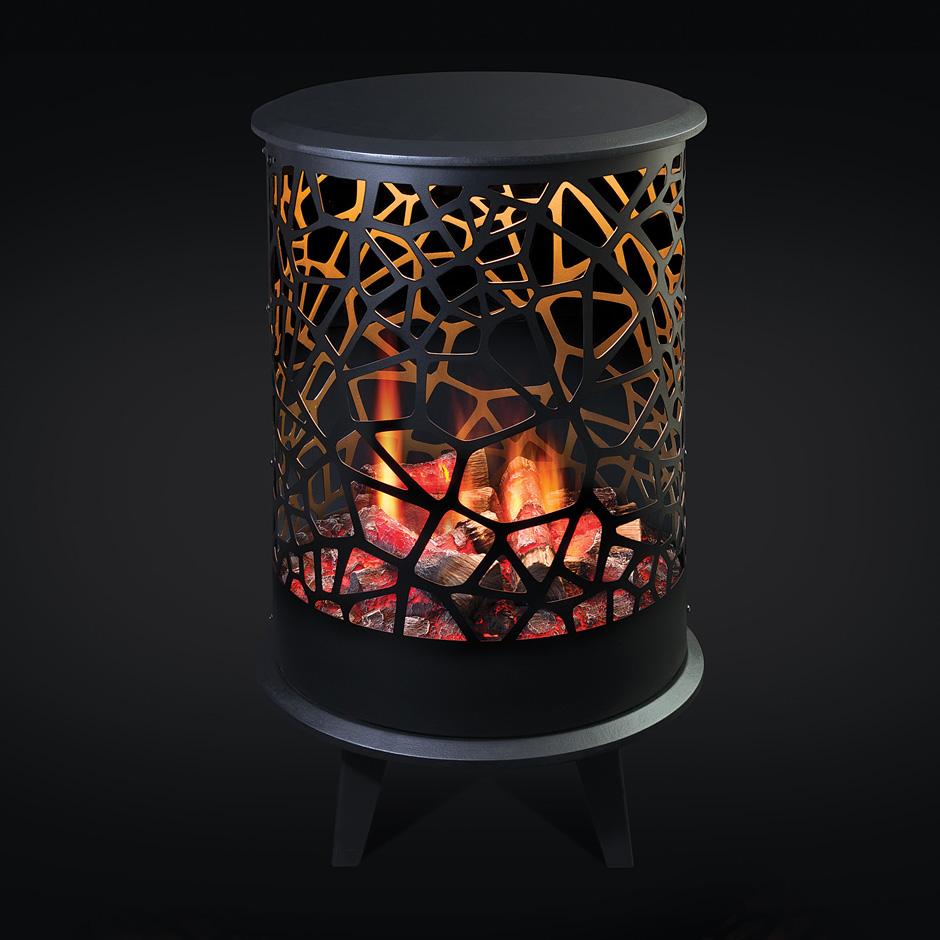 chimenea electrica dimplex opti v 360. Black Bedroom Furniture Sets. Home Design Ideas