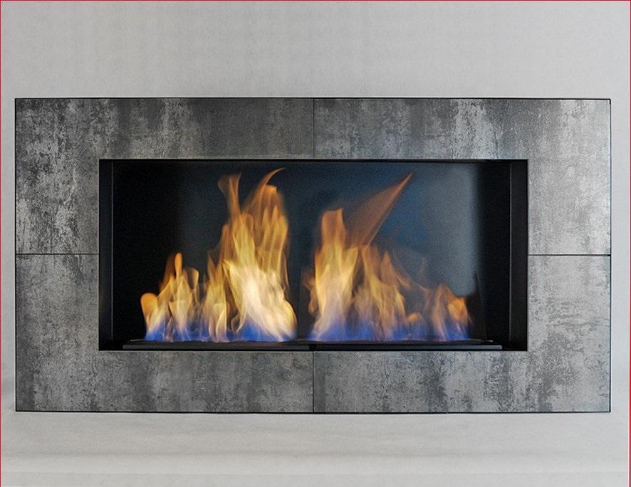 Ethanol Fireplace Kami Akaroa Ceramic
