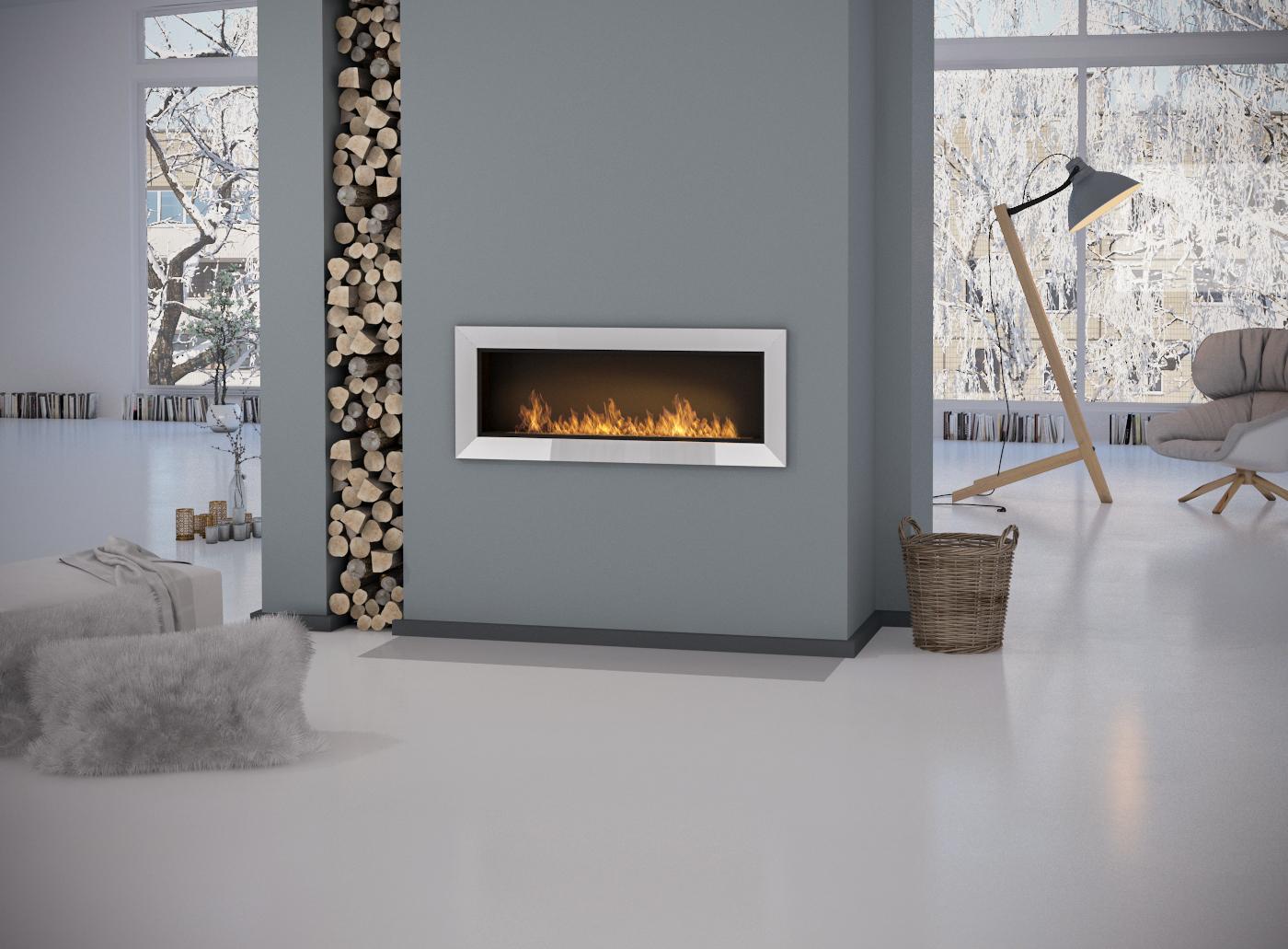 Ethanol Kamin Simple Fire Frame 1200 Artflame Com