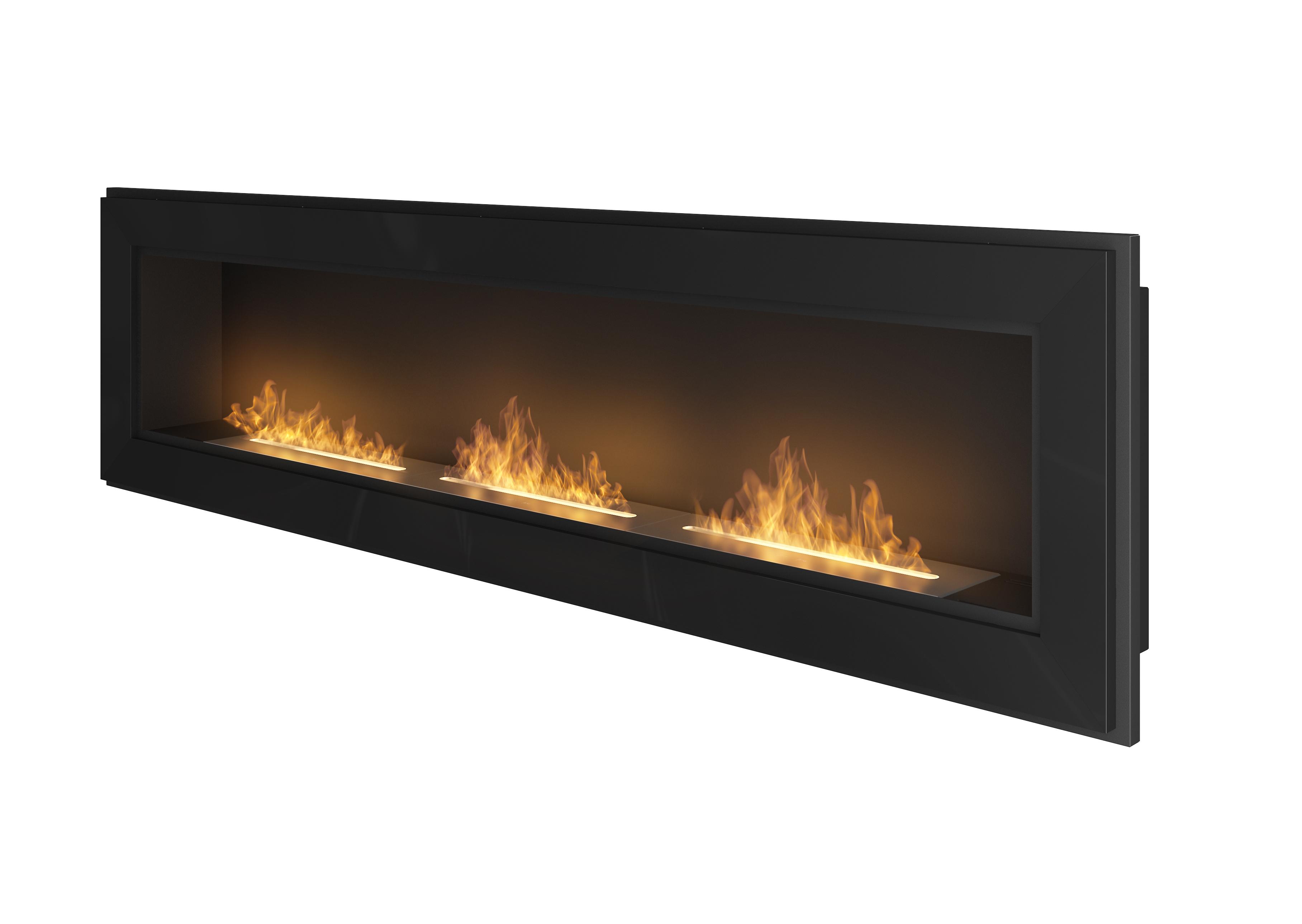 Ethanol Fireplace Simple Fire Frame 1800 Artflame Com
