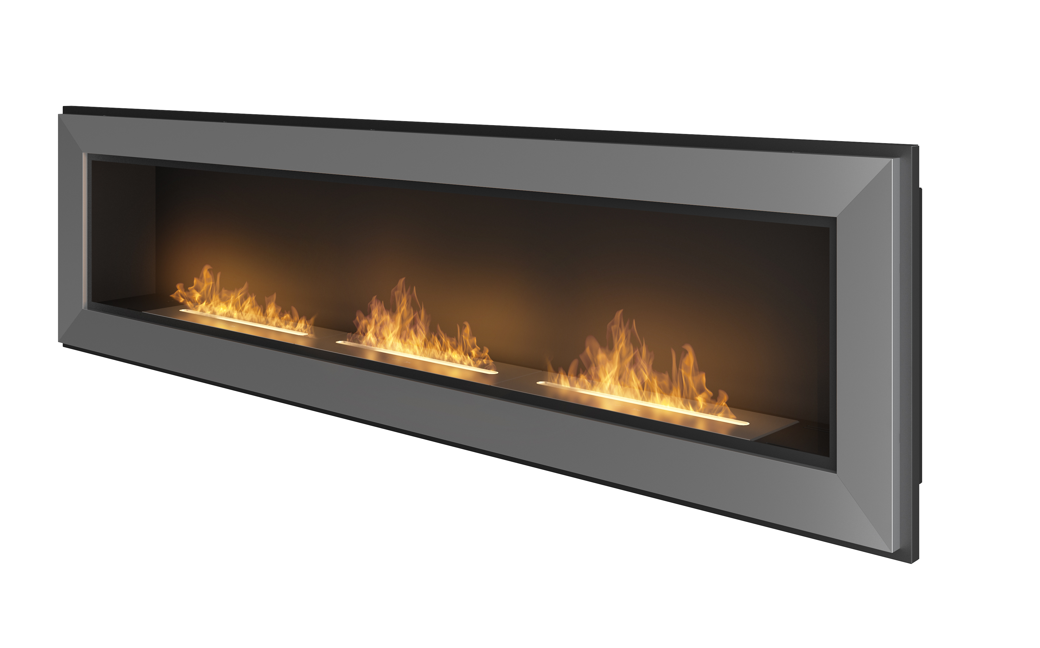 Ethanol fireplace Simple Fire Frame 1800 • Artflame.com