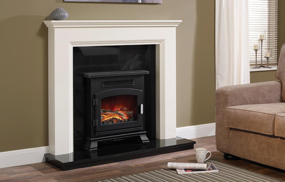 cheminee electrique bemodern westerdale. Black Bedroom Furniture Sets. Home Design Ideas