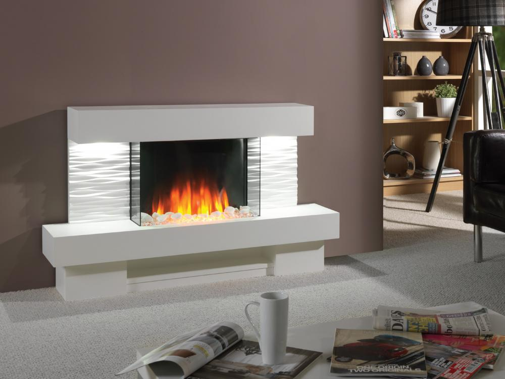 Gallery of cheminee electrique flamerite fires ador with cheminee electrique murale - Cheminee electrique quigg ...