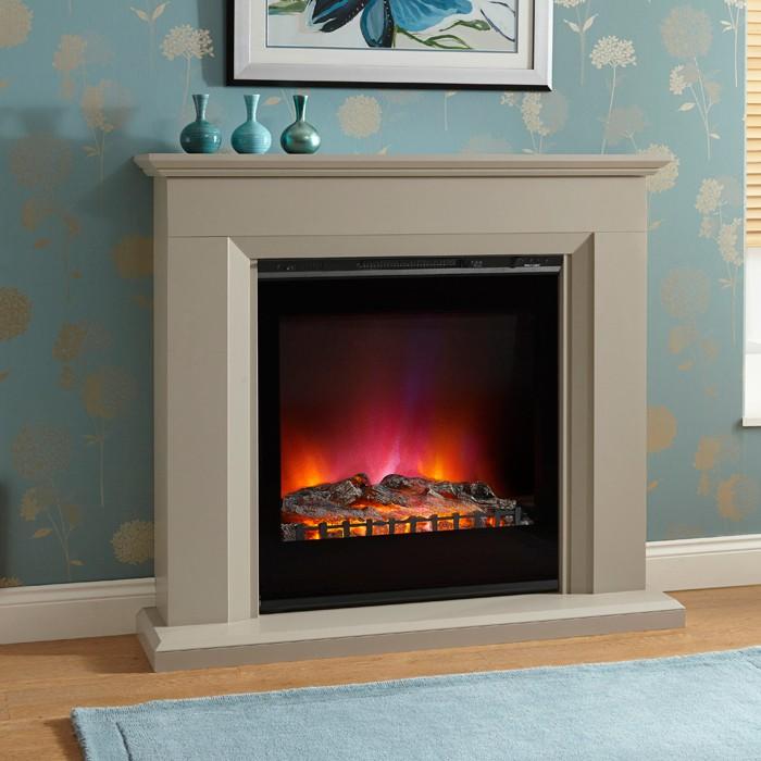 cheminee electrique elgin and hall amorina. Black Bedroom Furniture Sets. Home Design Ideas