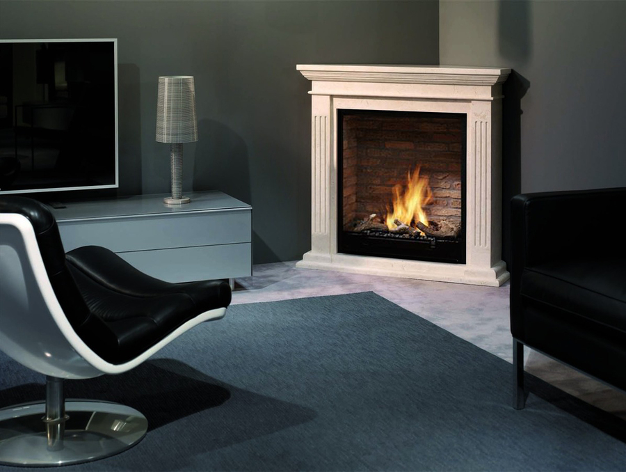 Corner Ethanol Fireplace Fireplaces