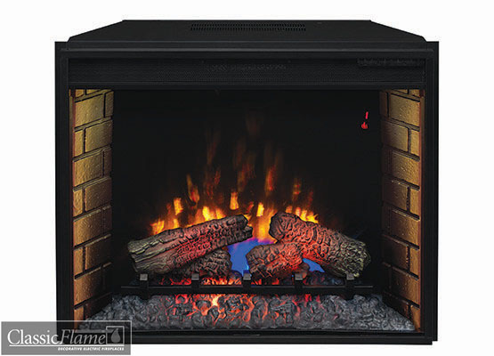 Electric Fireplace Classic Flame Insert 28