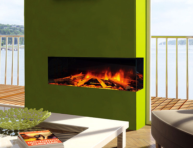 Electric Fireplace Evonic Fires E1030gf2