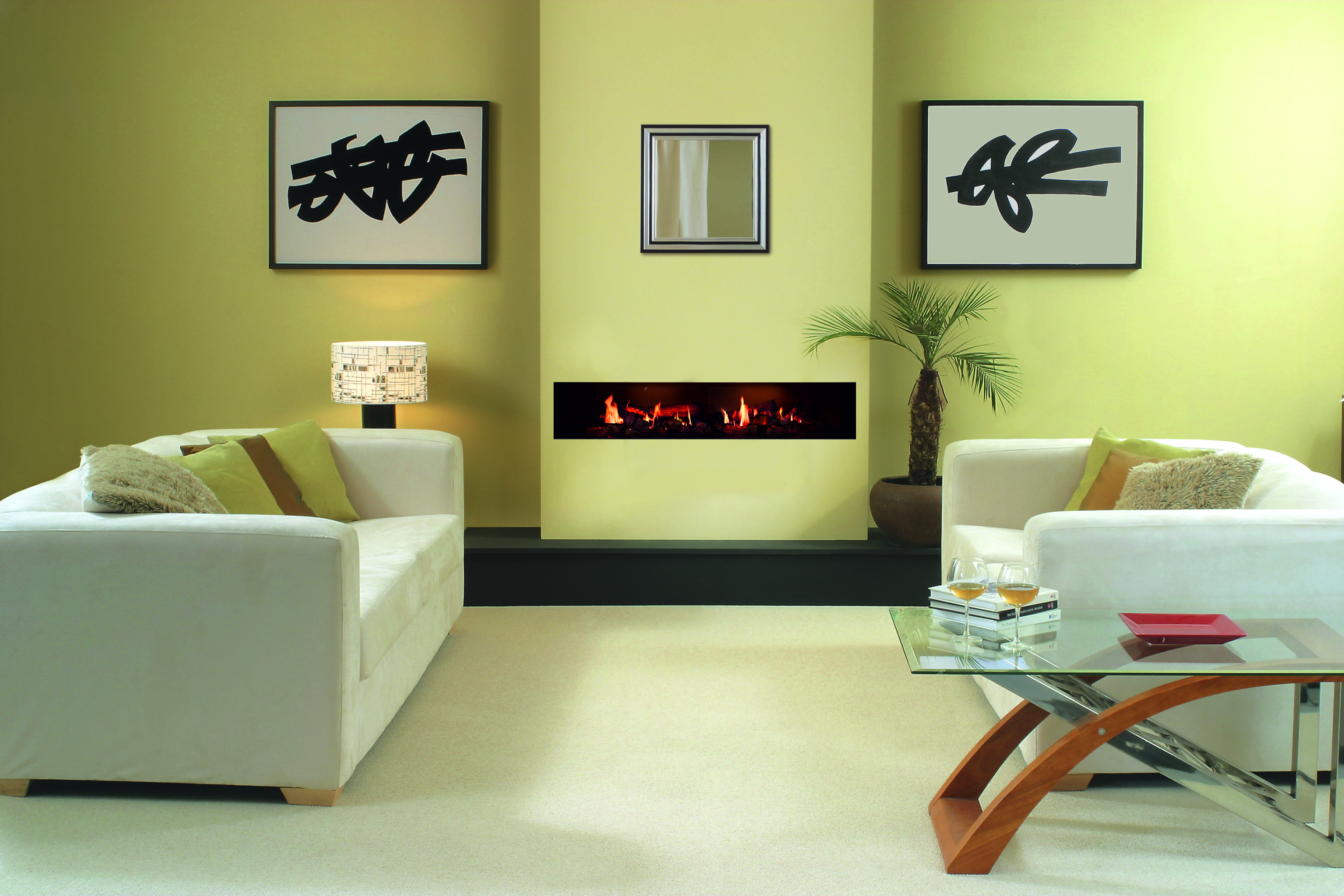 fireplace fires haard mounted meubel design tv bio sfeerhaard ruby ethanol eiken pin wall