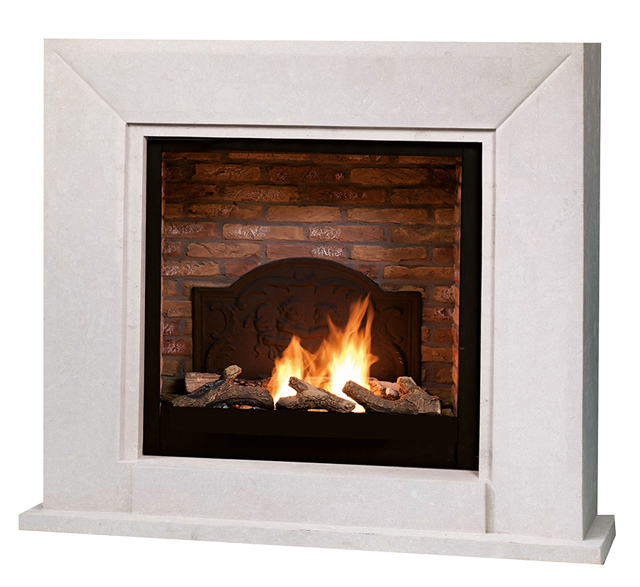 Ethanol fireplace Ruby Fires Nero • Artflame.com